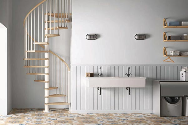 Genius Spiral Stair 020 Square Spindle