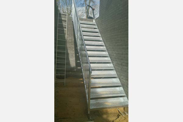Fabricated Staircase Grating Treads